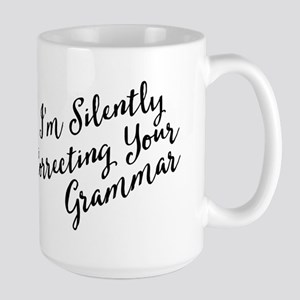 Funny Silently Correcting Your Grammar Mugs